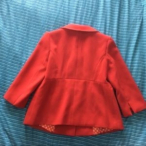 Forever 21 Jackets & Coats - Red Dress Jacket Forever 21